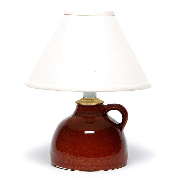 Copper Clay Small Lamp