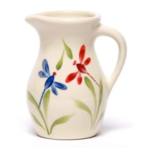 Dragonfly Posie Pitcher