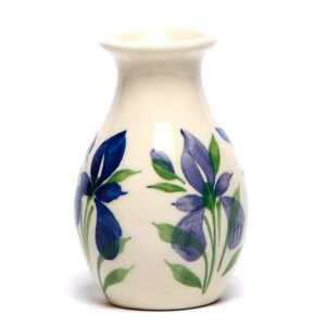 Field of Iris Bud Vase