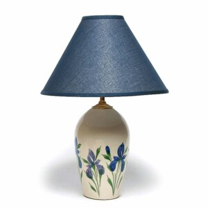 Field of Iris Large Lamp
