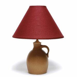 Go Green Earthware Jug Lamp