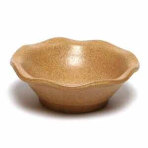 Go Green Earthware Little Frilly Bowl