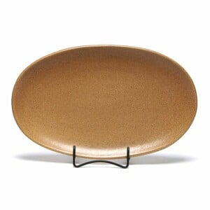 Go Green Earthware Oval Platter