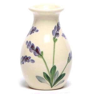 Lavender Bud Vase