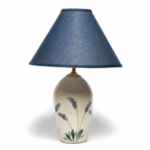Lavender Large Lamp