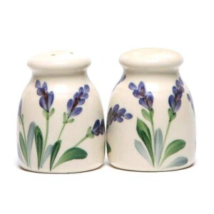 Lavender Salt and Pepper Shaker Set
