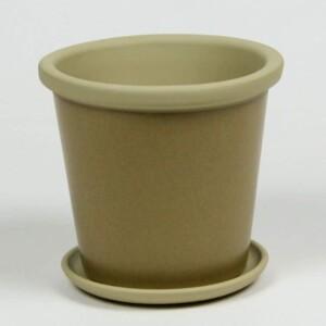 Onyx Black African Violet Pot