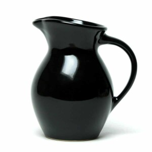 Onyx Black Iced Tea Pitcher