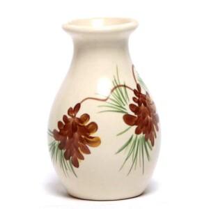 Pinecone Bud Vase
