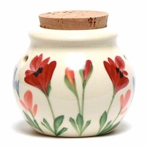 Red Poppy Garlic Keeper