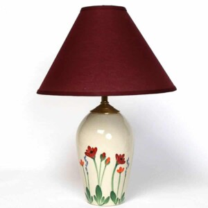 Red Poppy Large Lamp