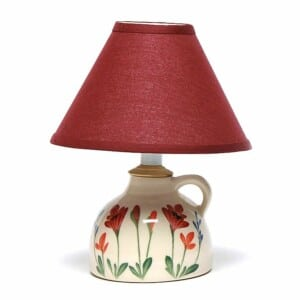 Red Poppy Small Lamp
