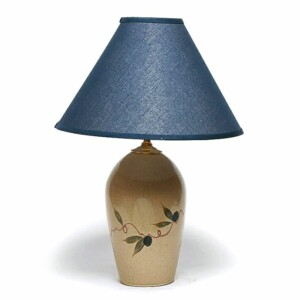 Tuscan Olive Large Lamp