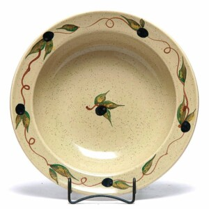 Tuscan Olive Large Serving Bowl