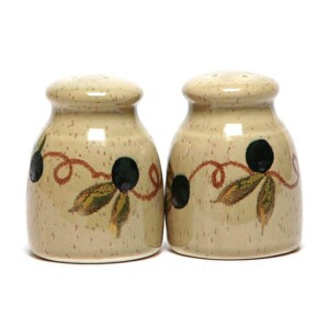Tuscan Olive Salt and Pepper Shaker Set