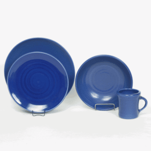 American Blue Craftline Dinner Plate Set for One