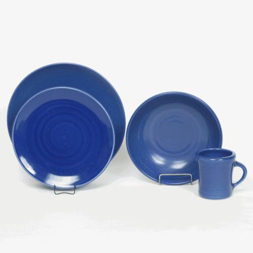 American Blue Craftline Dinner Plate Set for One