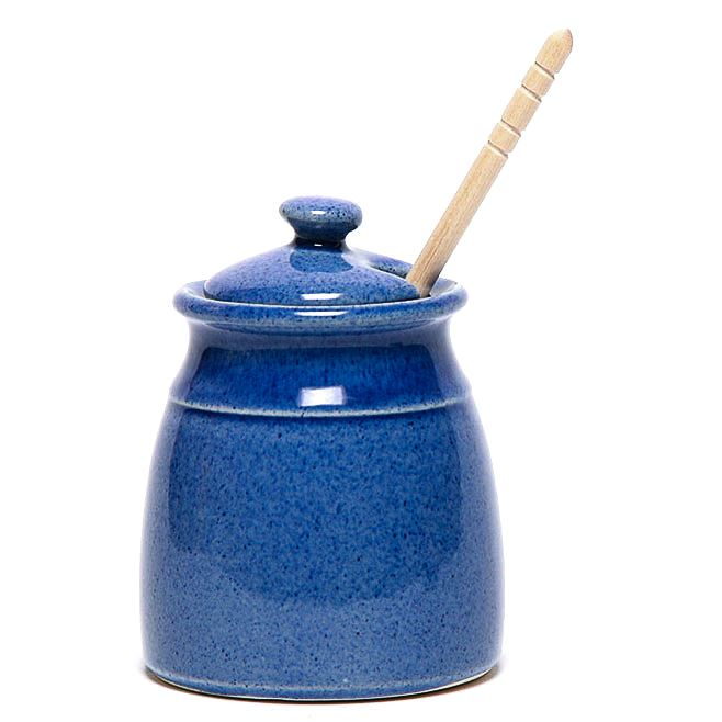 American Blue Honey Pot