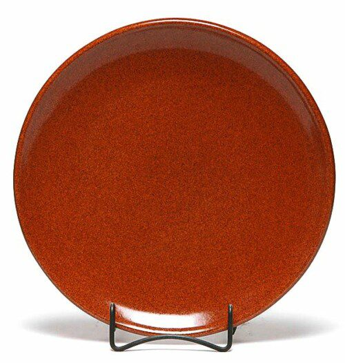 Copper Clay Coupe Dinner Plate