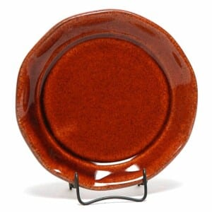 Copper Clay Oil Dipping Dish/Coaster