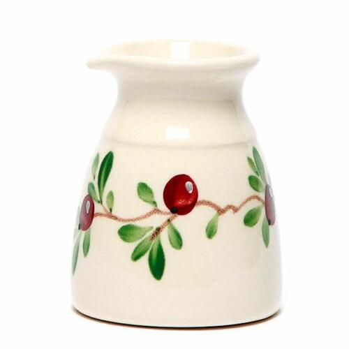 Cranberry Cream Pitcher
