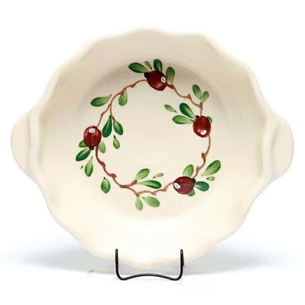 Cranberry Small Casserole Dish