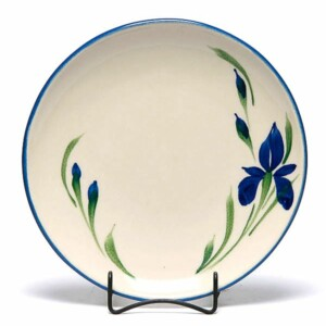 Field of Iris Coupe Dinner Plate