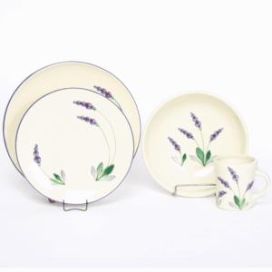 Lavender Craftline Dinner Plate Set for One
