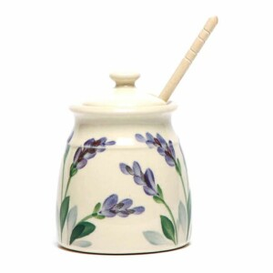 Lavender Honey Pot