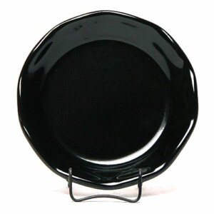 Onyx Black Oil Dipping Dish/Coaster