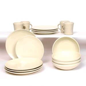 Pearl Craftline Dinner Plate Set for Four