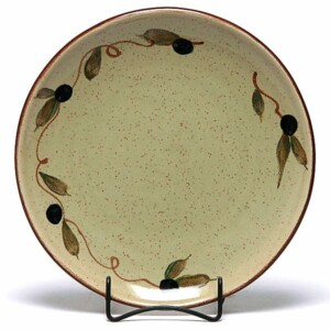 Tuscan Olive Coupe Dinner Plate