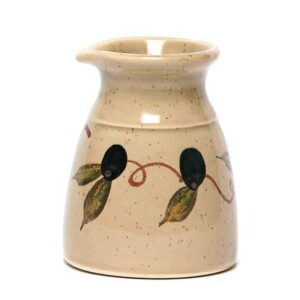 Tuscan Olive Cream Pitcher