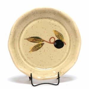 Tuscan Olive Oil Dipping Dish/Coaster