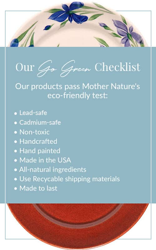 Non-Toxic Pottery & Sustainable Practices