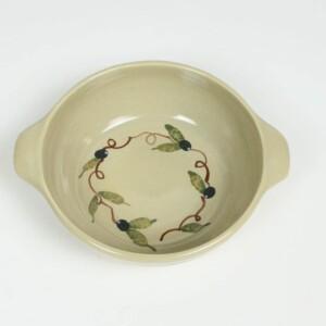 Tuscan Olive Round Casserole Dish