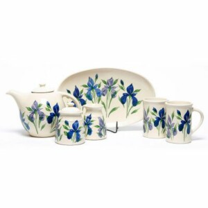 Field of Iris Tea Set