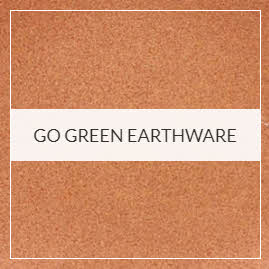 Go Green Earthware Pottery Collection