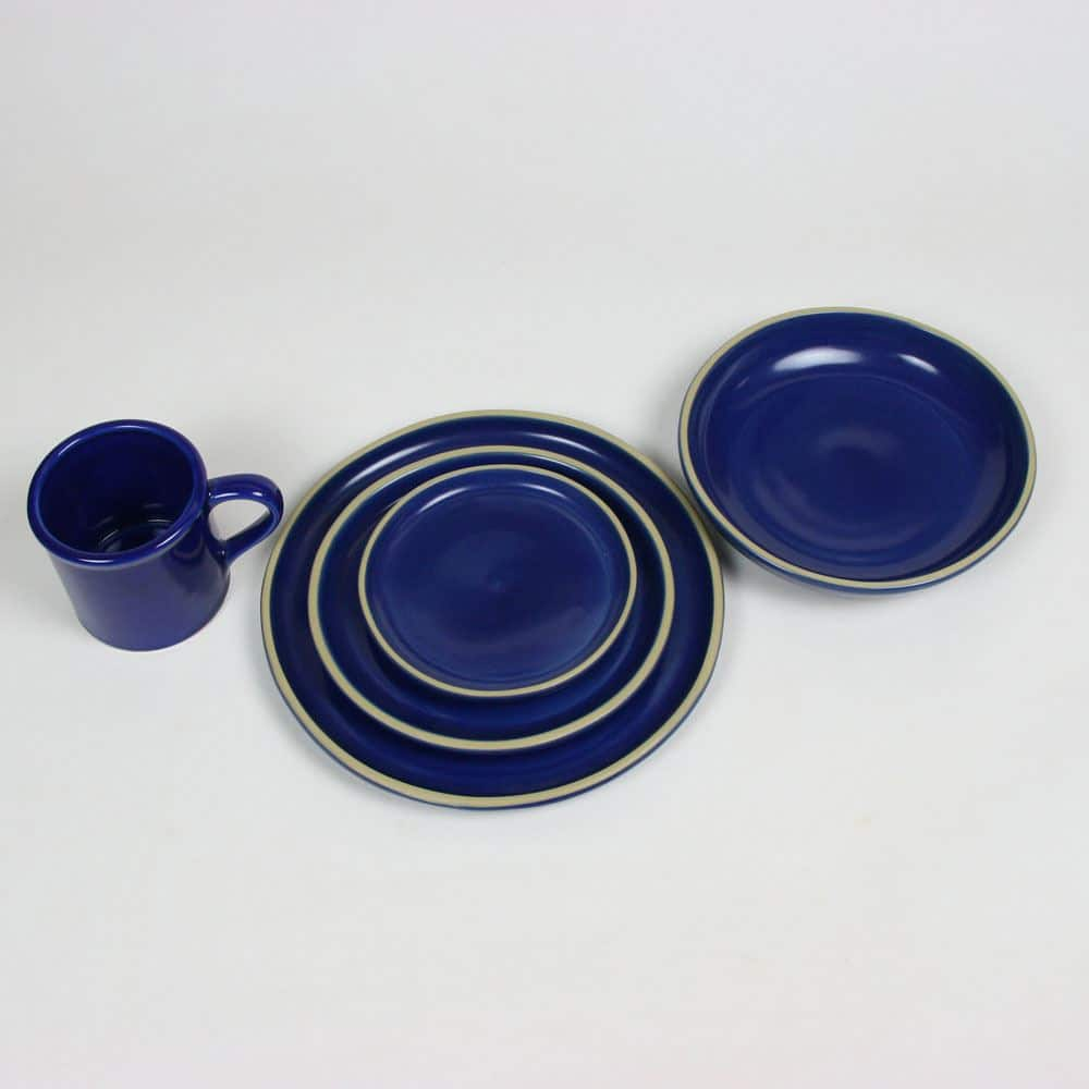 BL american blue set for four