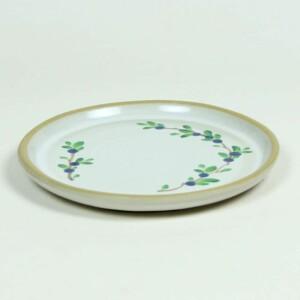 Blueberry BROOKLINE Salad Plate