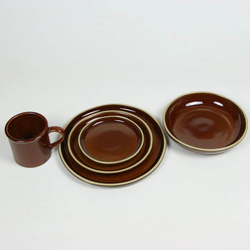 BL copper clay set for four