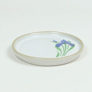 Field of Iris BROOKLINE Cake Plate
