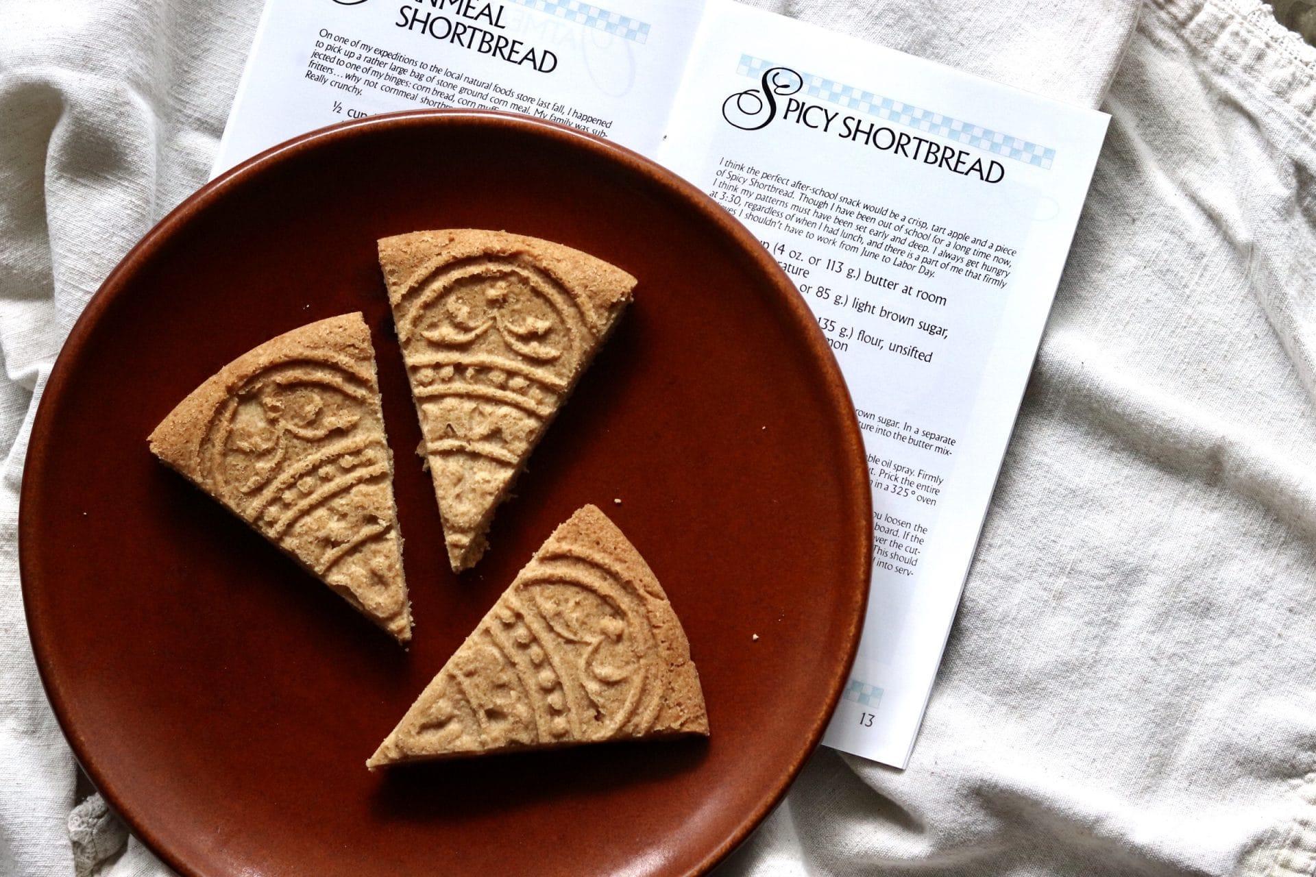 Spicy Shortbread Recipe